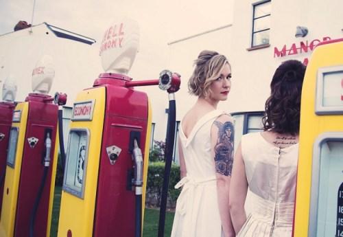 50s Bridal Photoshoot15