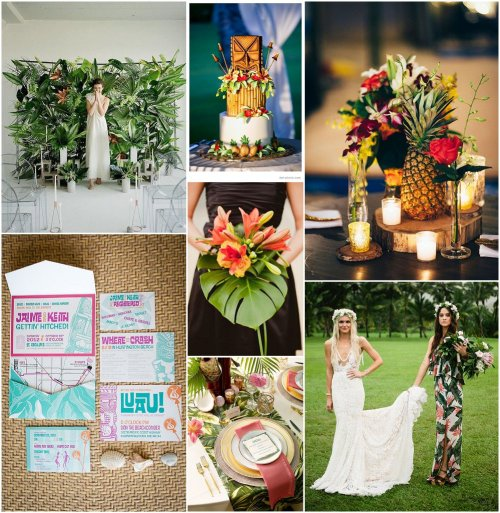 Hawaiian Wedding Altar: Alternative Wedding Blog Dedicated To