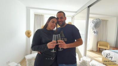 הצעת נישואין במלון רמדה בחדרה נועם & טגל(10.3.20)00125