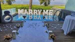הצעת נישואין במלון סטאי כנרת Setai