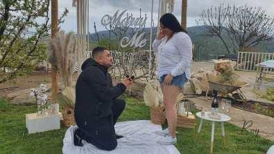 הצעת נישואין בדלתון בצימר מדהימה בצפון(19.3.21)00167