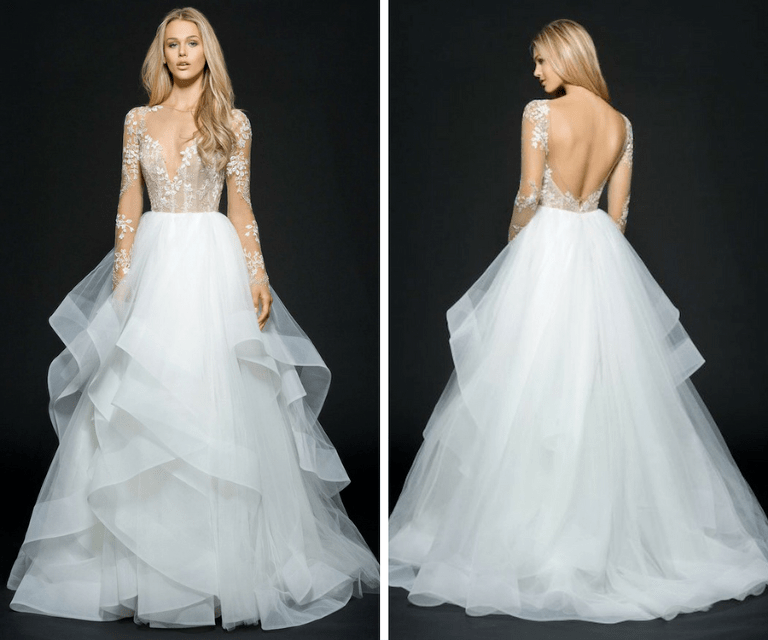 Designer Tampa Bay, Couture Long Sleeve Wedding Dress