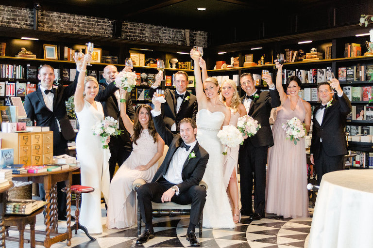 Indoor South Tampa Garden Wedding