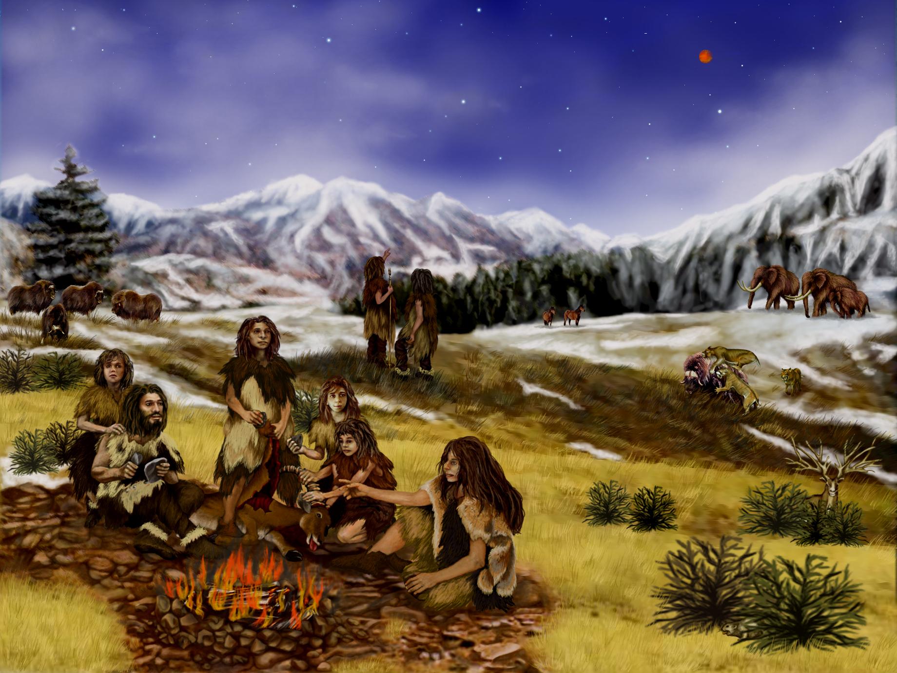 Neandertals observant Mart