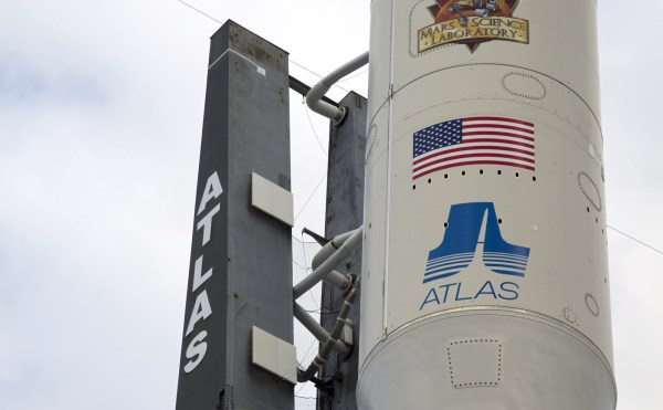 Closeup of Atlas V NASAs Mars Exploration Program