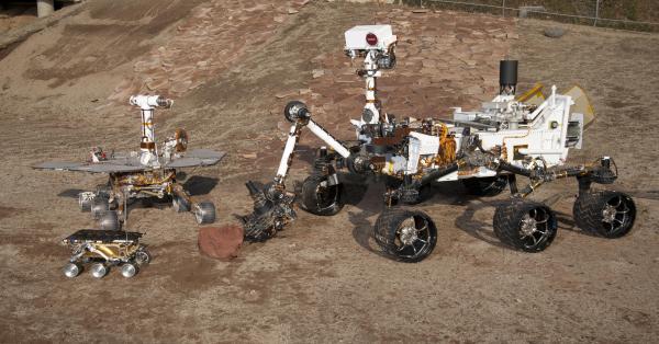 Three Generations of Rovers in Mars Yard – NASA's Mars ...