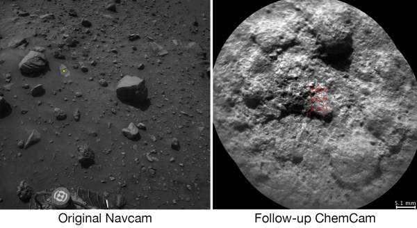 Autonomous Selection of a Rover's Laser Target on Mars ...