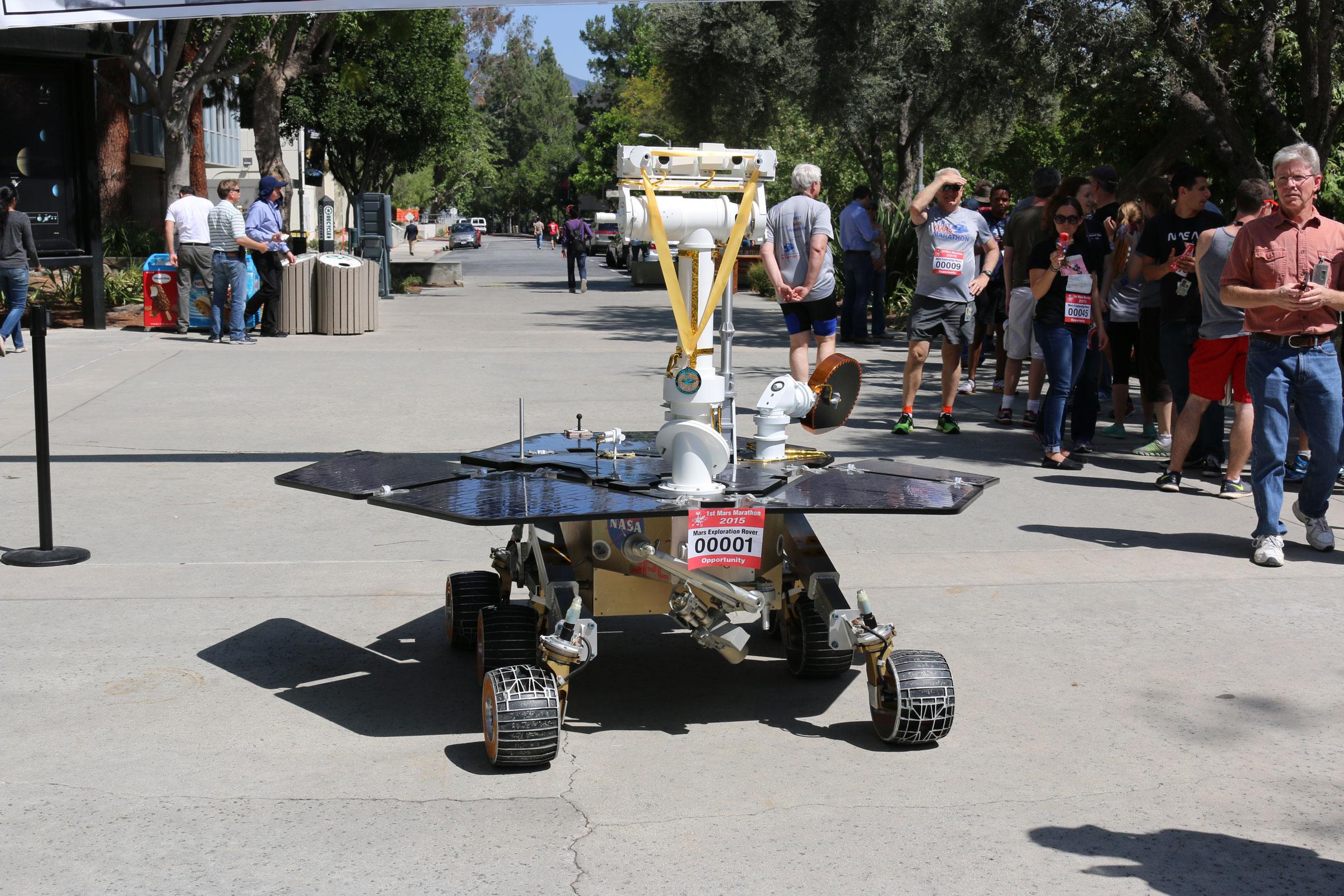 JPL Mars Marathon