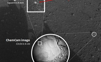 Rover's Laser Instrument Zaps First Martian Rock | Mars ...