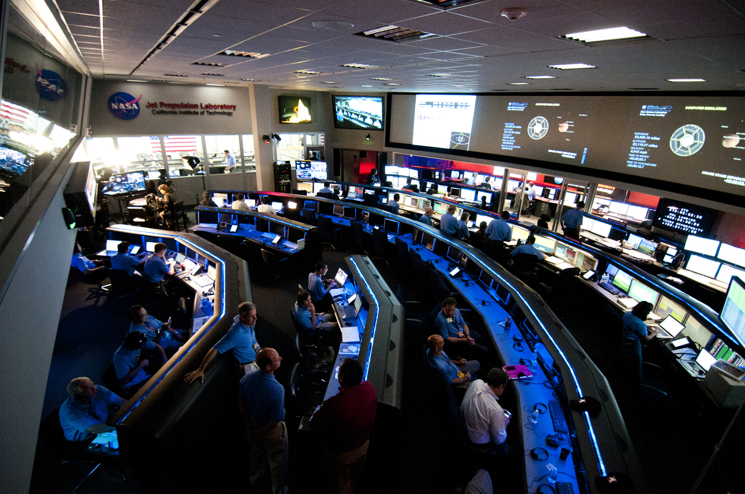 Space Flight Operations Facility At The Jet Propulsion
