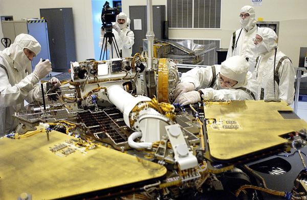 Circuit Boards on Rover 2 – NASA's Mars Exploration Program