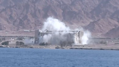 Photo of فشل شركة تركية في تفجير مبنى الصوامع في ميناء العقبة الأردني