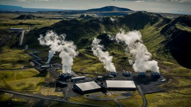 Photo of آيسلندا تحوّل ثاني أكسيد الكربون إلى صخور