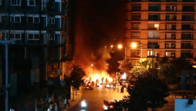 Photo of شوارع لبنان تتحول نارا ودخانا