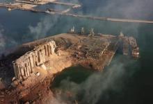 Photo of صور تظهر حجم الفجوة التي خلفها انفجار مرفأ بيروت