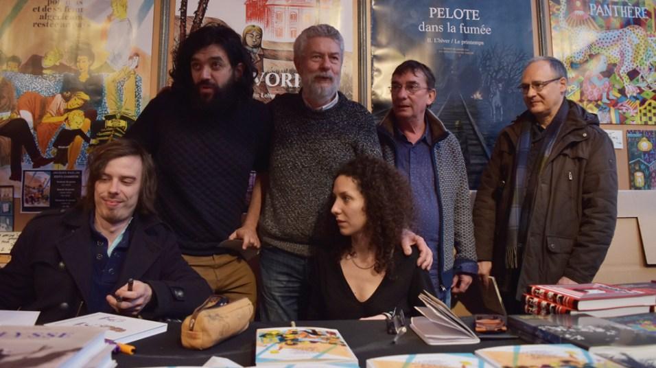 La team Actes Sud BD