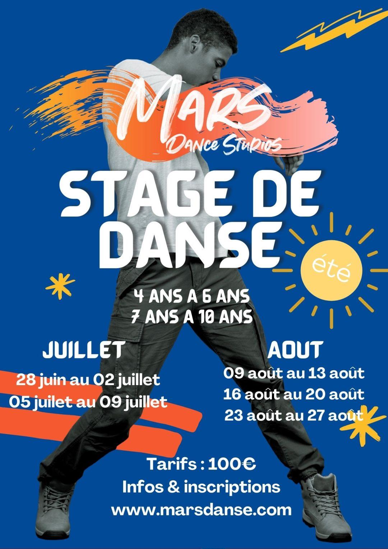 Stage de danse MARS