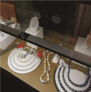 AH Gaspar Jewelers Interior