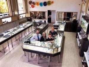 Neugebauer's Fine Jewelry Interior
