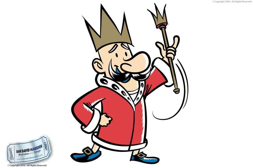 Image of logo, character and mascot design by Ian David Marsden