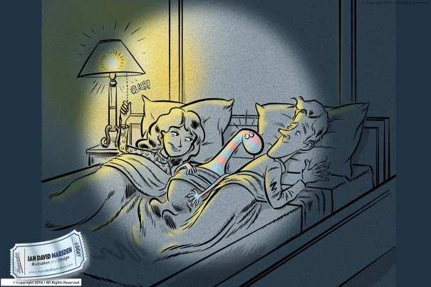 Children's Book Illustration by Ian David Marsden
