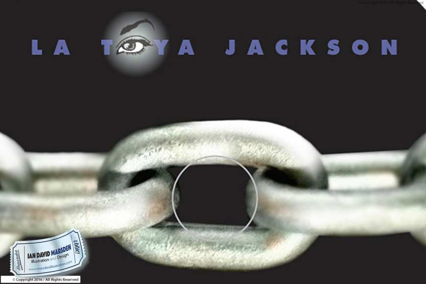 La Toya Jackson, Ja-Tail Enterprises, Image of logo, character and mascot design by Ian David Marsden