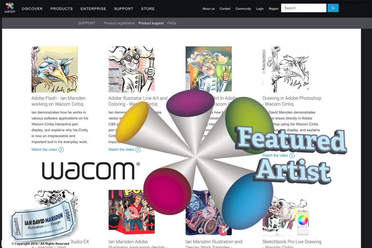 Wacom Featured Artist