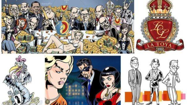 Independent illustrator and cartoonist Ian Marsden