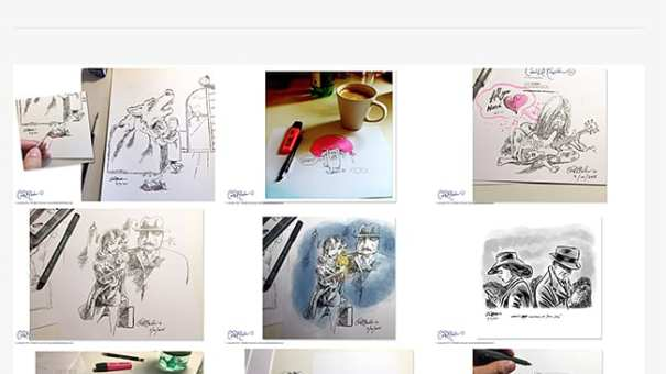 Ian David Marsden's Sketchbook