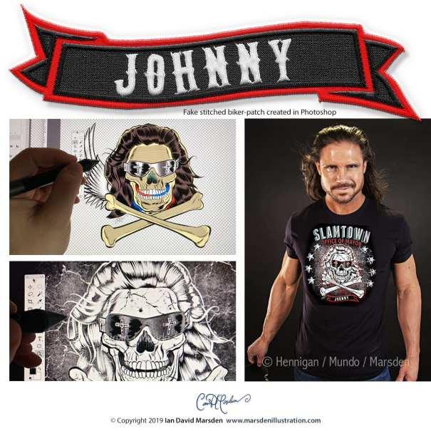 "JOHNNY - SLAMTOWN ""Office of Mayor"" - Wrestling T-shirt"