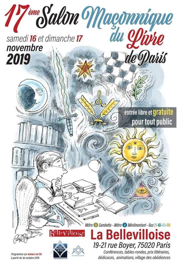 poster  salon du livre - paris