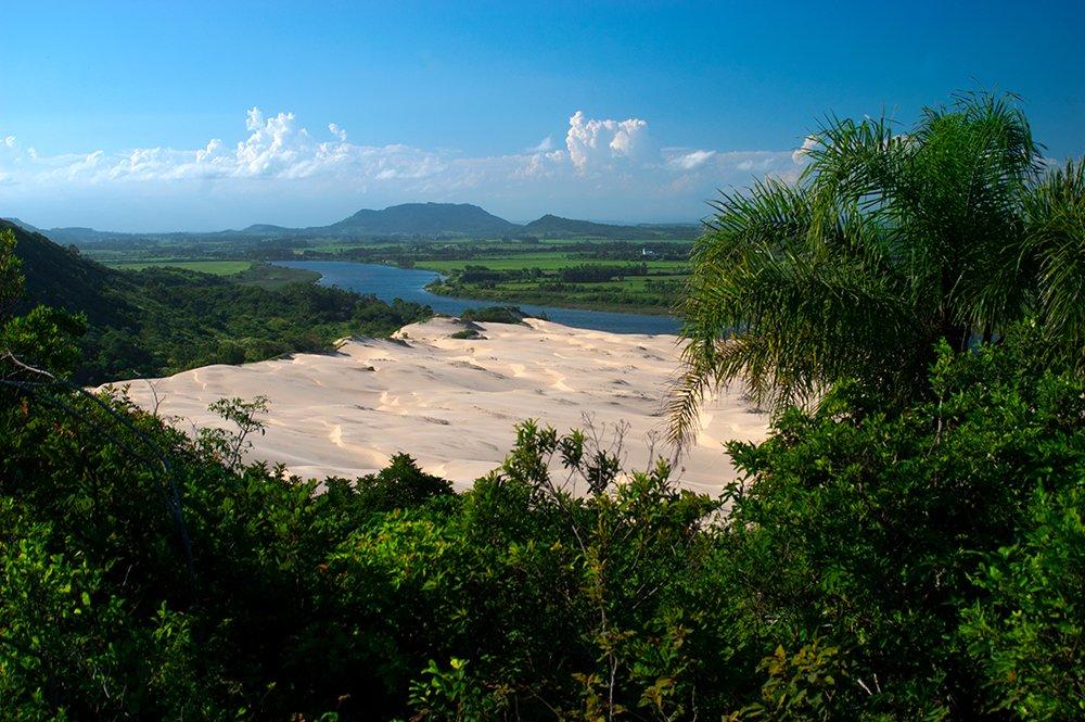 Colapso dos rios brasileiros, rio ararangua, SC