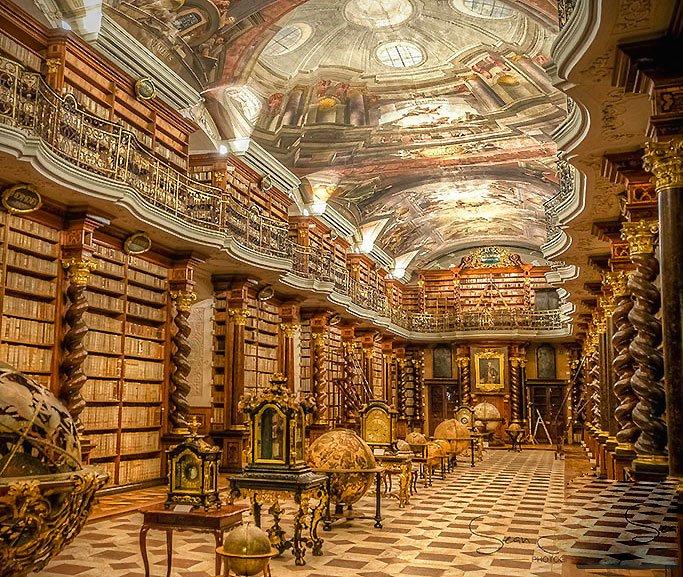 Ilustração: da biblioteca de Alexandria