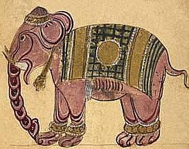 Ilustração de elefante