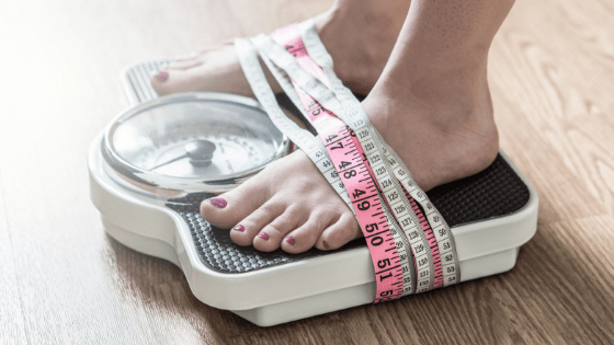my journey to ditching the scale