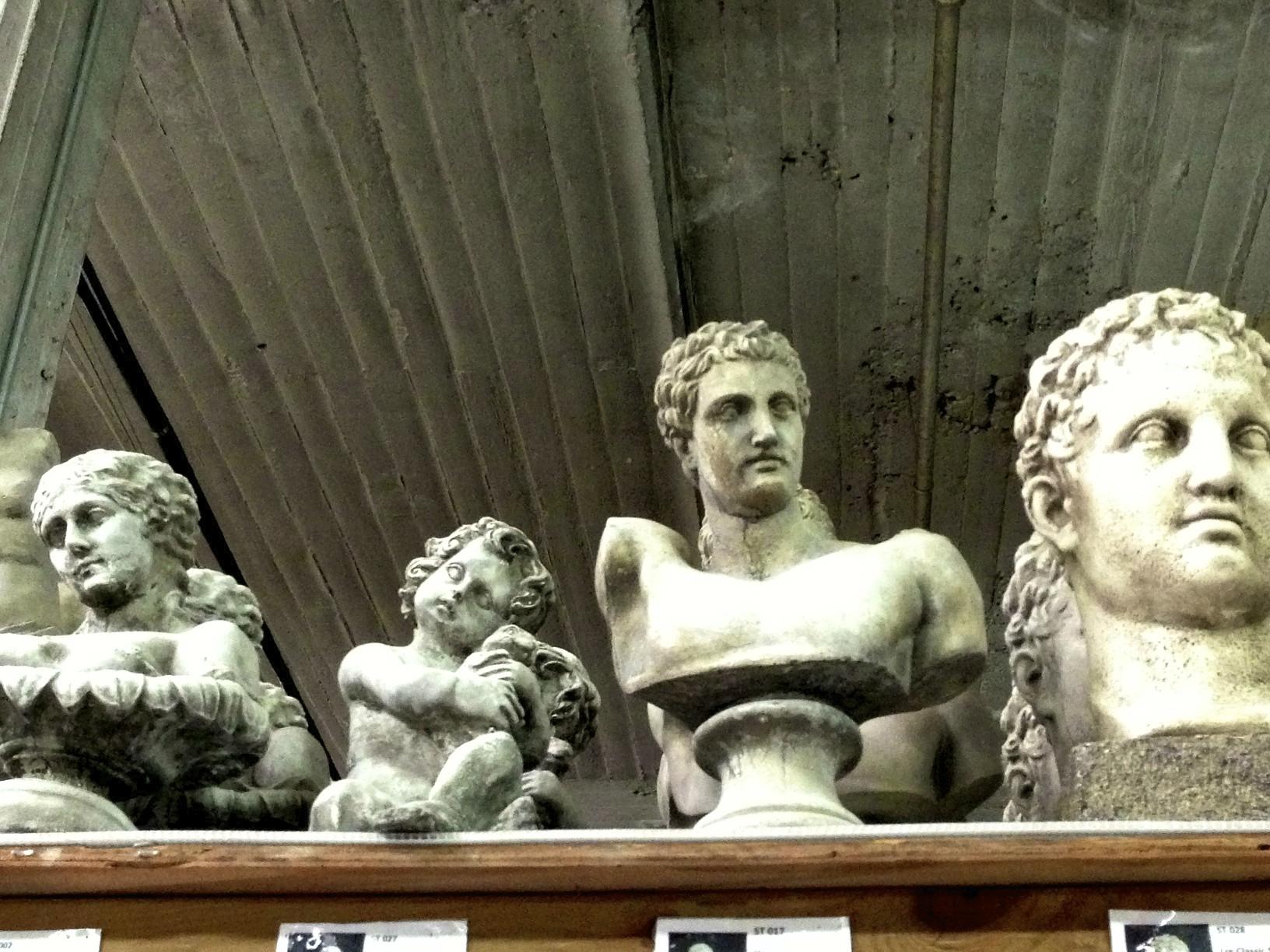 concrete busts