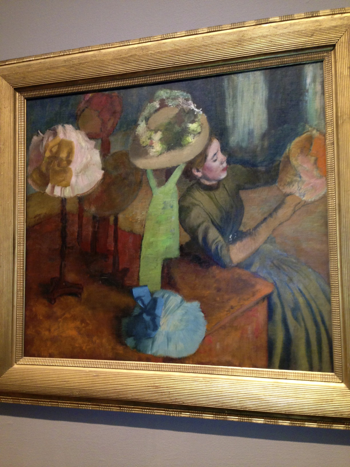 Degas, The Millinery
