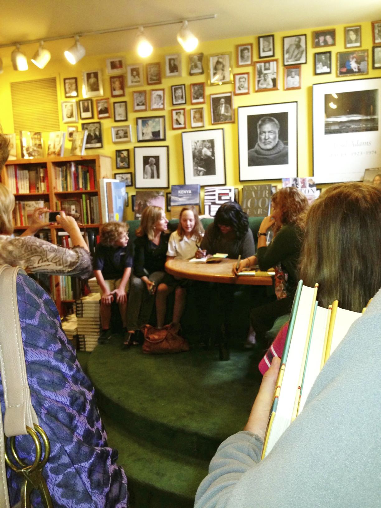 Octavia Spencer, LeMuria Bookstore