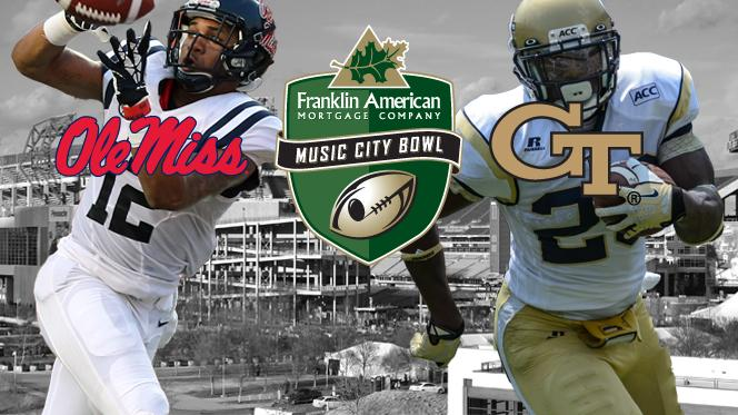 Ole Miss in the Music City Bowl