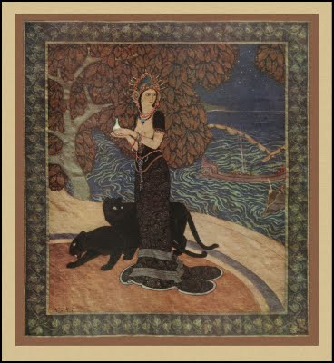 painting of Circe by Edmund Dulac