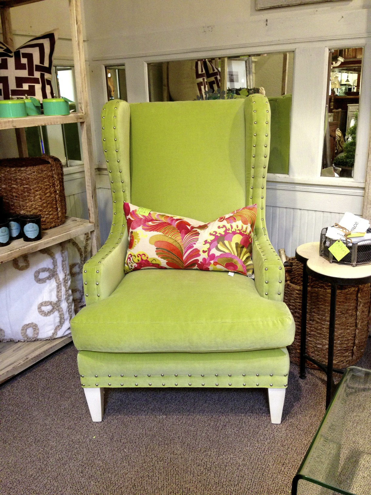 apple green chair