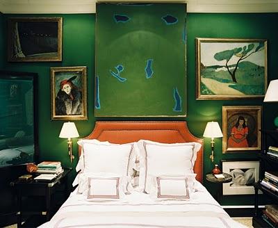 Miles Redd green room