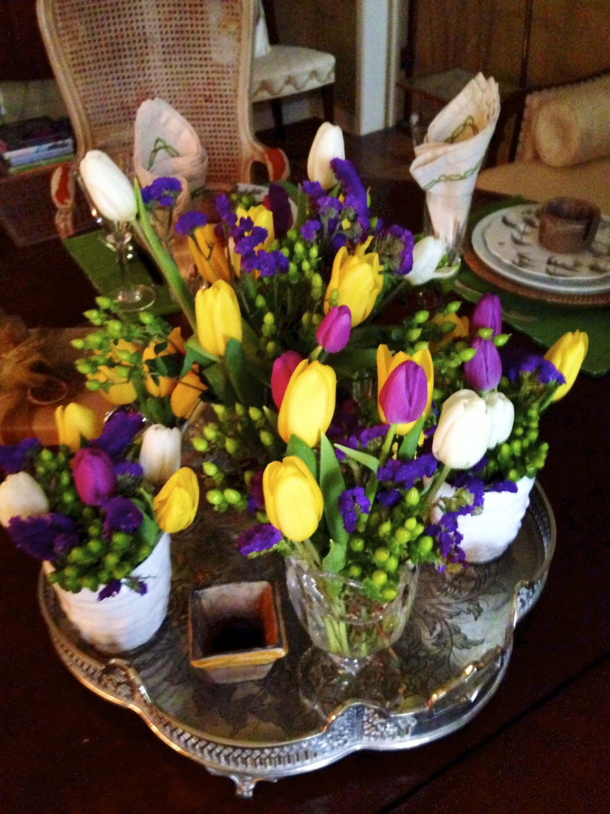 flowers for mardi gras