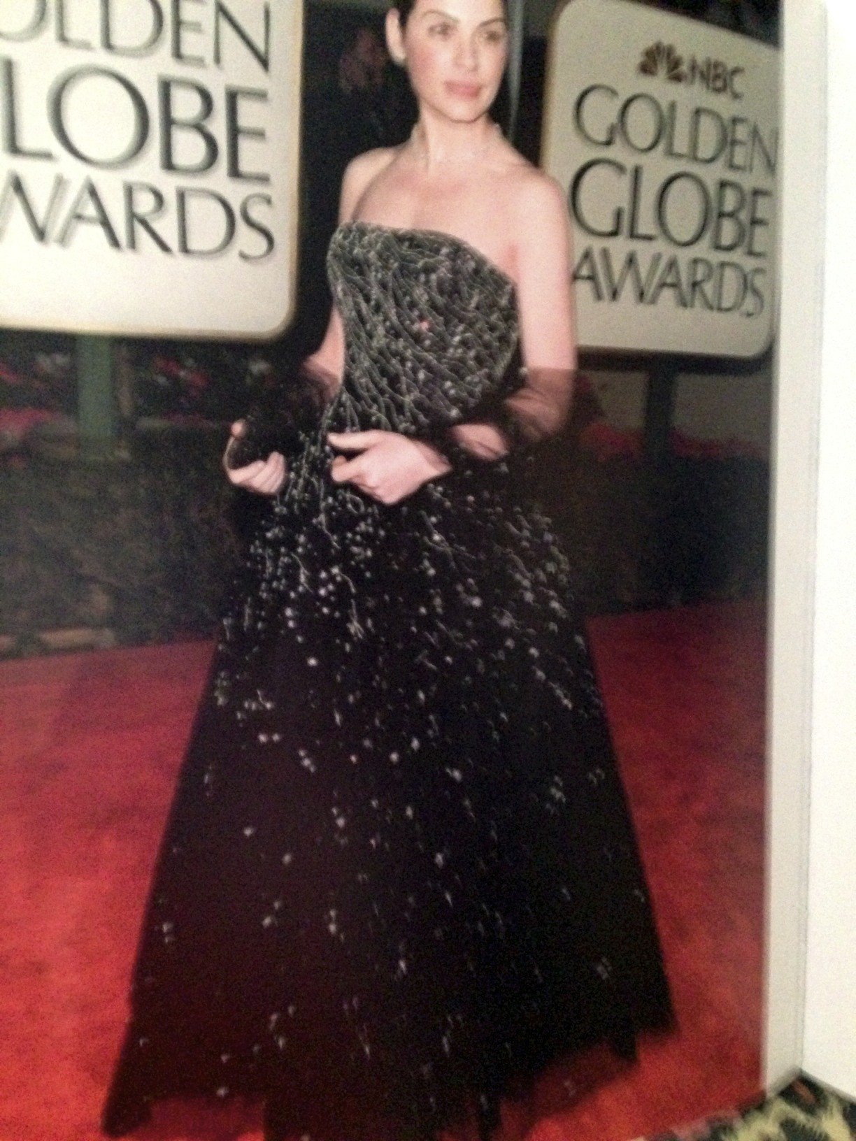 Julianna Margulies in Oscar de la Renta