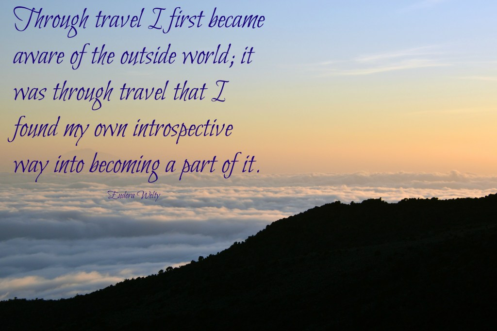 Welty travel quote