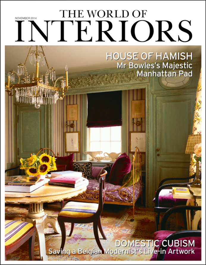 Hamish Bowles in World of Interiors