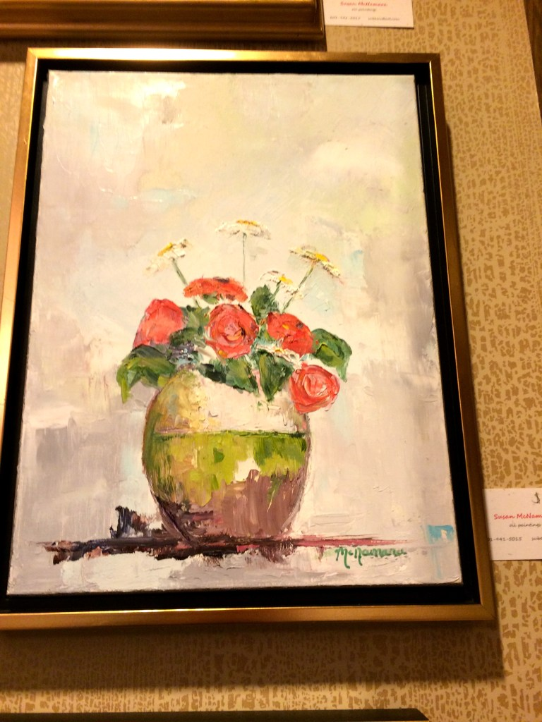 Susan McNamara's Art Show