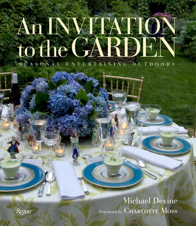 Invitation to the garden cover