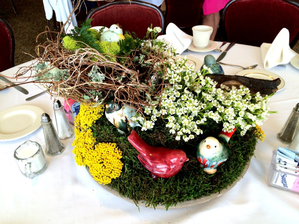 Centerpieces Created with Collections