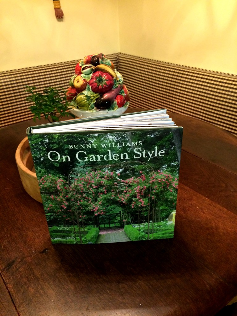 On The Bookshelf:  Bunny Williams On Garden Style